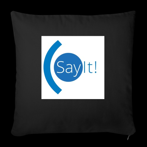 Sayit! - Sofa pillow with filling 45cm x 45cm