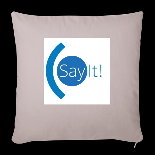 Sayit! - Sofa pillow with filling 45cm x 45cm