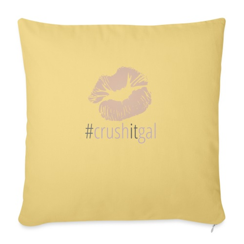 #crushitgal - Sofa pillow with filling 45cm x 45cm