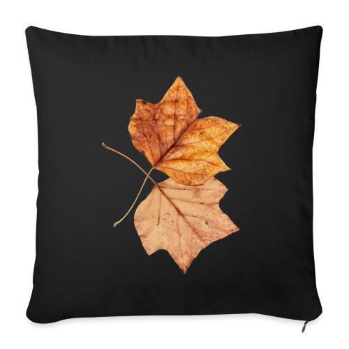 Blätter - Sofakissen mit Füllung 44 x 44 cm