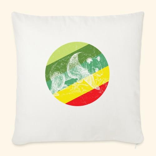 Chinese Panda Retro - Sofa pillow with filling 45cm x 45cm