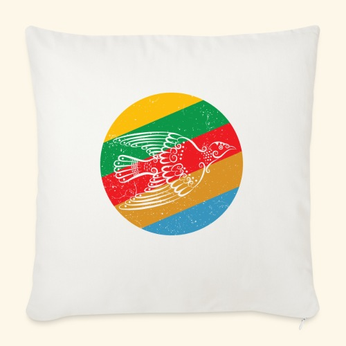 Grenadian Dove Retro - Sofa pillow with filling 45cm x 45cm