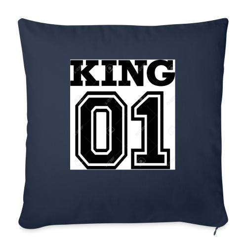King 01 - Coussin et housse de 45 x 45 cm