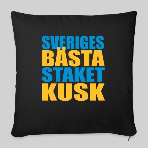 Sveriges bästa staketkusk! - Soffkudde med stoppning 44 x 44 cm