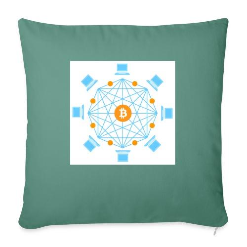 Blockchain - Sohvatyynyt täytteellä 44 x 44 cm