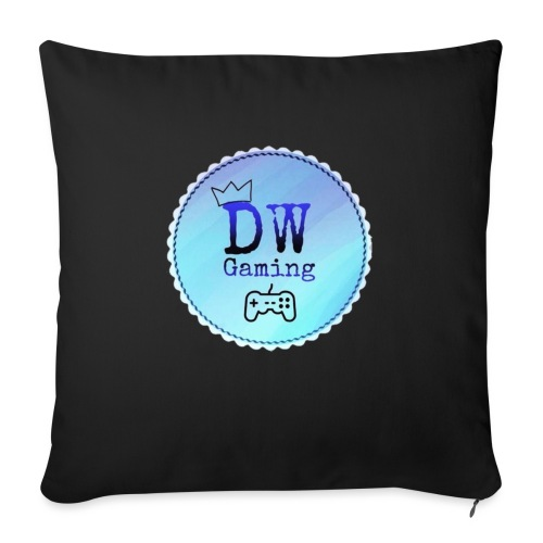dw logo - Sofa pillow with filling 45cm x 45cm
