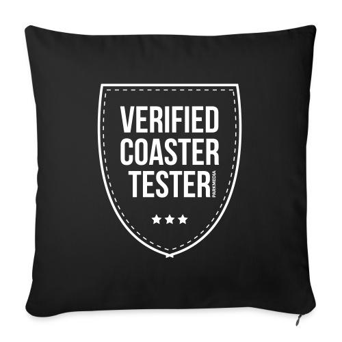 Badge CoasterTester vérifié - Coussin et housse de 45 x 45 cm