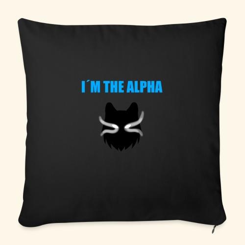 im the alpha - Sohvatyynyt täytteellä 44 x 44 cm