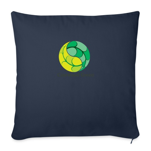 Cinewood Green - Sofa pillow with filling 45cm x 45cm