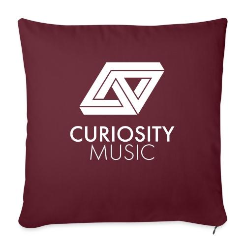 Curiosity Music - Coussin et housse de 45 x 45 cm