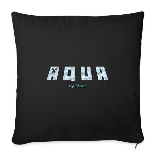 Aqua Design - Sofakissen mit Füllung 44 x 44 cm