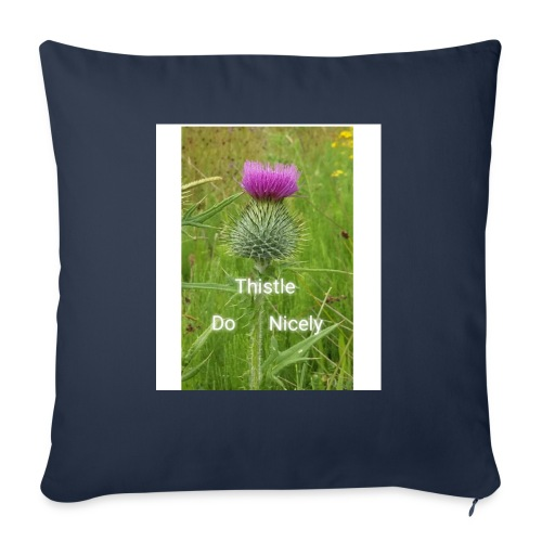 IMG 20180301 221949 Thistle Do Nicely - Sofa pillow with filling 45cm x 45cm