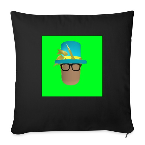 MrWhatWhat Logo Merch - Sofa pillow with filling 45cm x 45cm