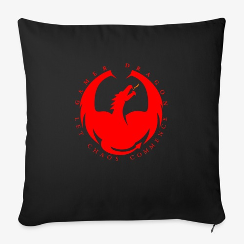 GamerDragon - Sofa pillow with filling 45cm x 45cm