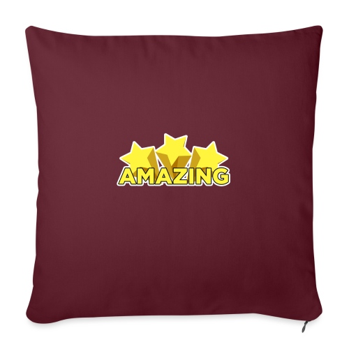 Amazing - Sofa pillow with filling 45cm x 45cm