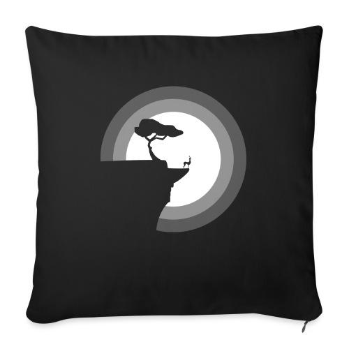 La pleine lune - Coussin et housse de 45 x 45 cm