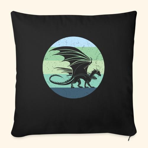 Welsh Dragon Retro - Sofa pillow with filling 45cm x 45cm