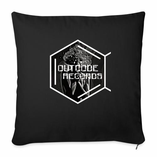 Outcode Records Art - Cojín de sofá con relleno 44 x 44 cm