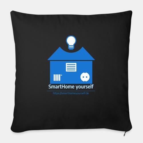 SmartHome yourself Logo Groß - Sofakissen mit Füllung 44 x 44 cm