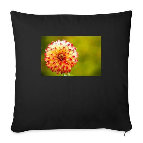 Blomst - Sofapude med fyld 44 x 44 cm