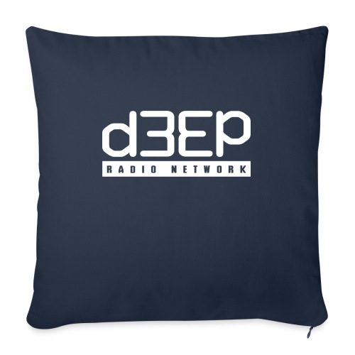 d3ep full white png - Sofa pillow with filling 45cm x 45cm