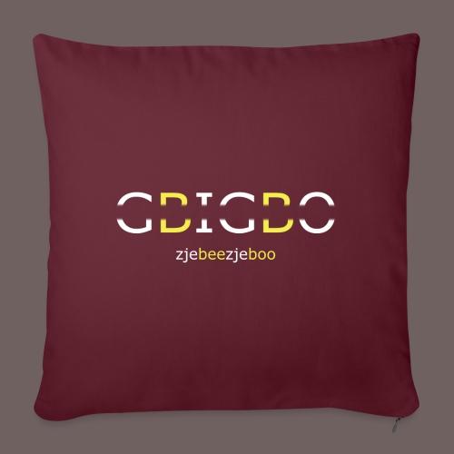 GBIGBO zjebeezjeboo - Retour à l'essentiel - Coussin et housse de 45 x 45 cm