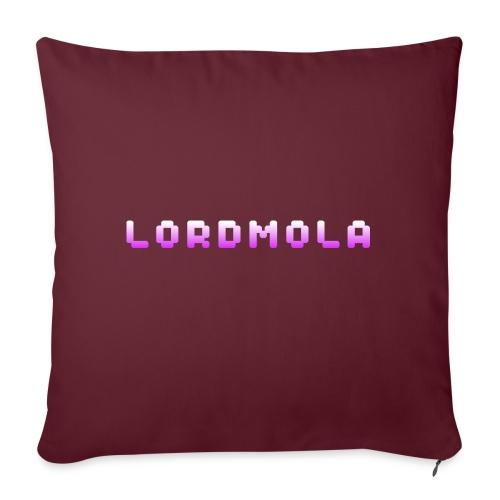 LordMola Original Logo-edition - Soffkudde med stoppning 44 x 44 cm