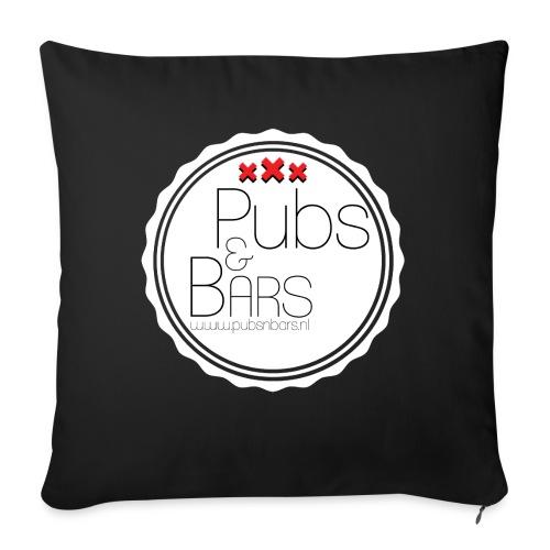 PubsnBars - Bankkussen met vulling 44 x 44 cm