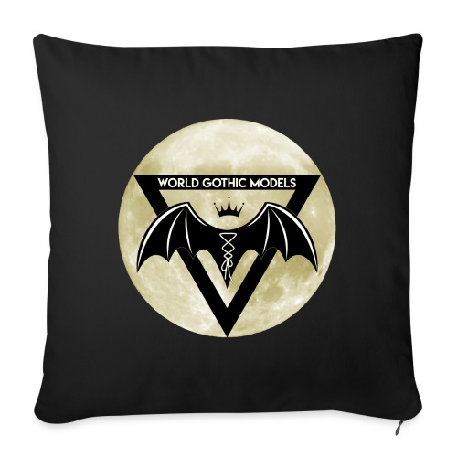 Single WGM Logo Moon Design - Sofa pillow with filling 45cm x 45cm