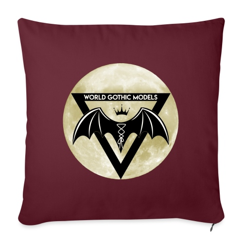 Single WGM Logo Moon Design - Sofa pillow with filling 45cm x 45cm