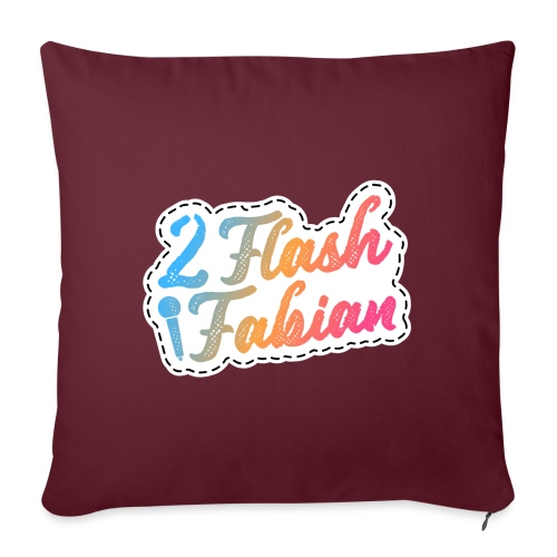2Flash Fabian - Sofakissen mit Füllung 44 x 44 cm