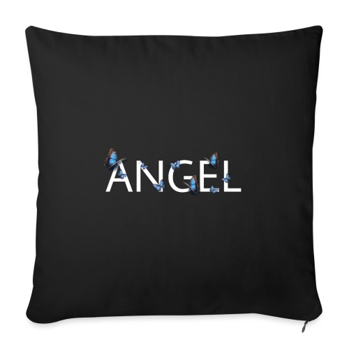 Angel - Butterfly theme - Sofapude med fyld 44 x 44 cm