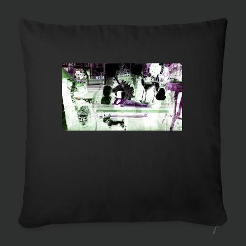 Tattooremover - Cuscino da divano 44 x 44 cm con riempimento