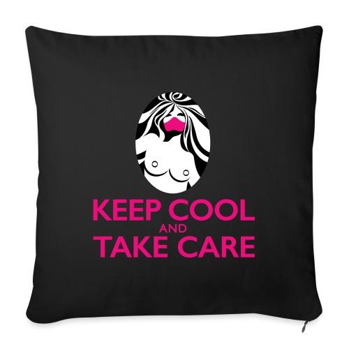 Keep cool - Coussin et housse de 45 x 45 cm