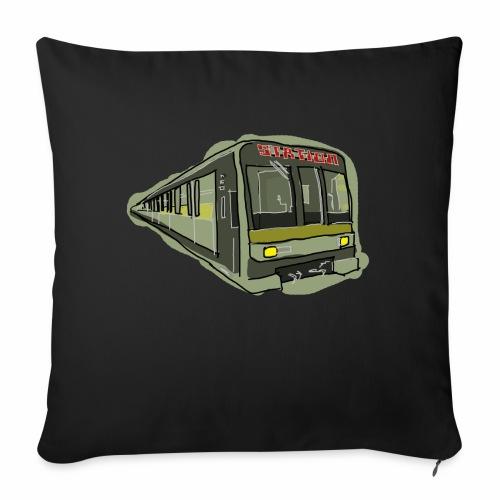 Urban convoy - Cuscino da divano 44 x 44 cm con riempimento