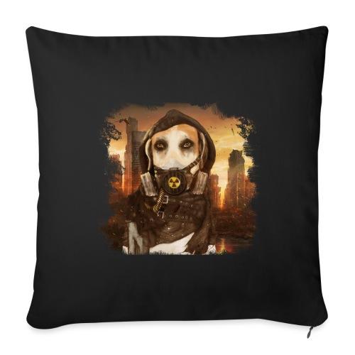 Cane Apocalittico #2 - Cuscino da divano 44 x 44 cm con riempimento