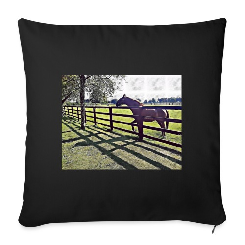 horse - Sofa pillow with filling 45cm x 45cm