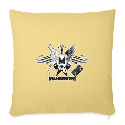 Mansesteri logo - Sohvatyynyt täytteellä 44 x 44 cm