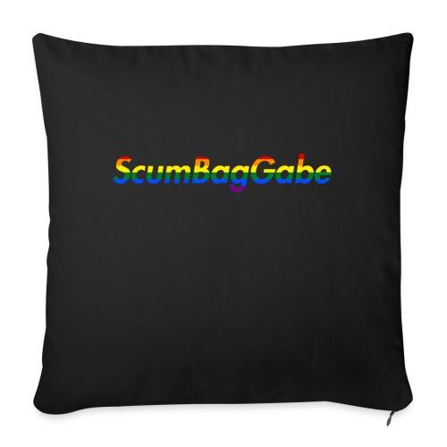 ScumBagGabe Multi Logo XL - Sofa pillow with filling 45cm x 45cm