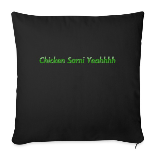 Chicken Sarni Yeah - Sofa pillow with filling 45cm x 45cm