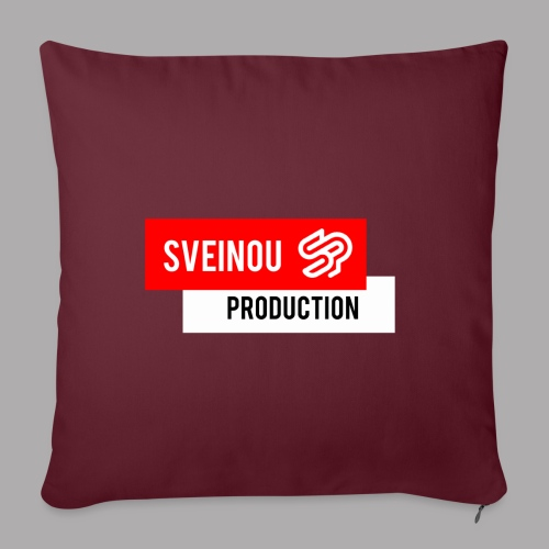 Logo Sveinou Production - Coussin et housse de 45 x 45 cm