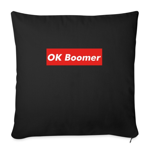 OK Boomer Meme - Sofa pillow with filling 45cm x 45cm
