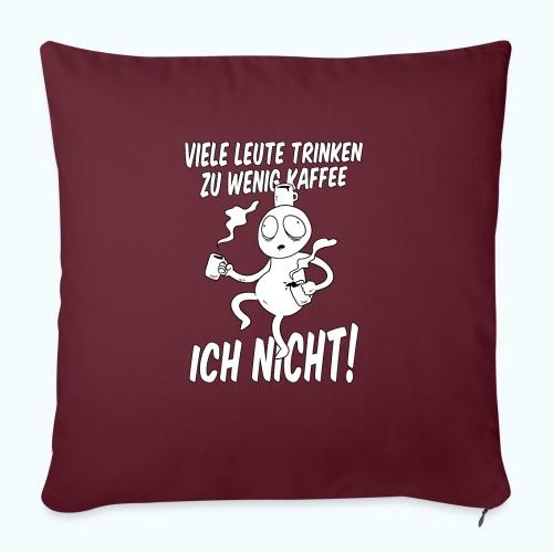 Nie Zuviel Kaffee - Sofa pillow with filling 45cm x 45cm