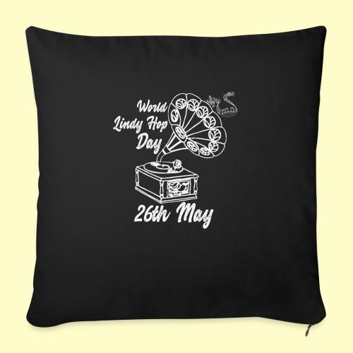 Lindy Hop Day Swing Dancing Vintage Geschenk - Sofakissen mit Füllung 44 x 44 cm