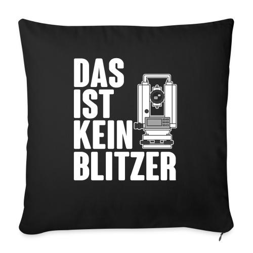 Vermessungstechniker Theodoloit Blitzer Geomatiker - Sofakissen mit Füllung 44 x 44 cm