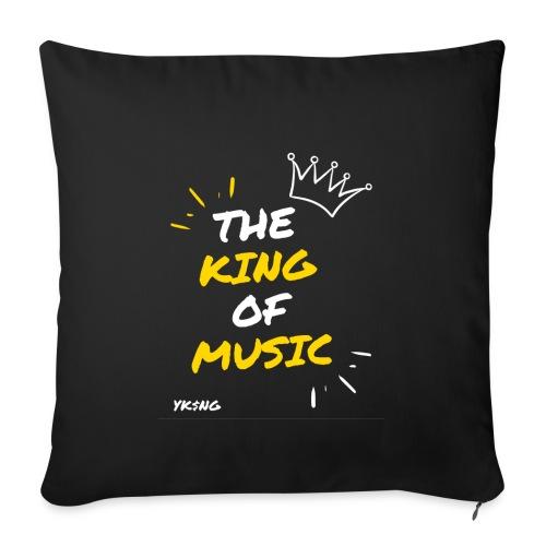 The king Of Music - Cojín de sofá con relleno 44 x 44 cm