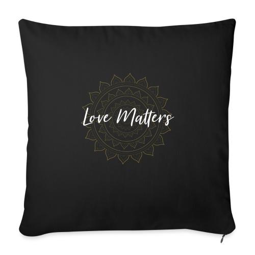 Love Matters - Sofakissen mit Füllung 44 x 44 cm
