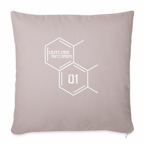 Outcode 01 - Cojín de sofá con relleno 44 x 44 cm