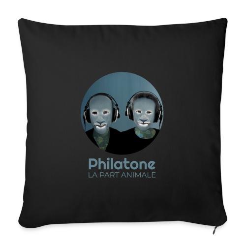 Philatone - La part animale - Coussin et housse de 45 x 45 cm