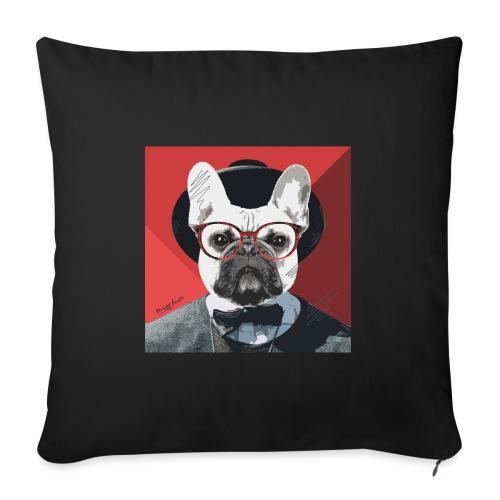 French Bulldog Artwork 2 - Sofakissen mit Füllung 44 x 44 cm